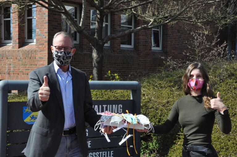 Kreis Schleswig-Flensburg startet Kampagne auf Facebook: Ich schütze Dich und trage Maske!
