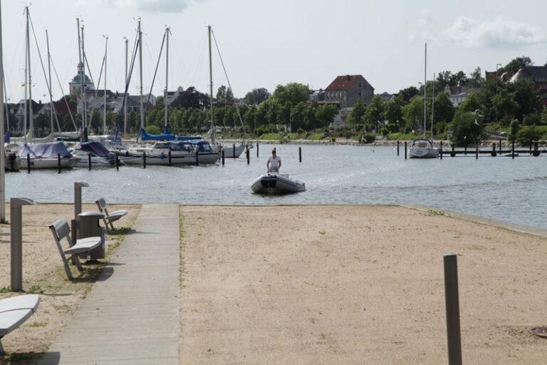 Das Luisenbad an den Königswiesen in Schleswig öffnet