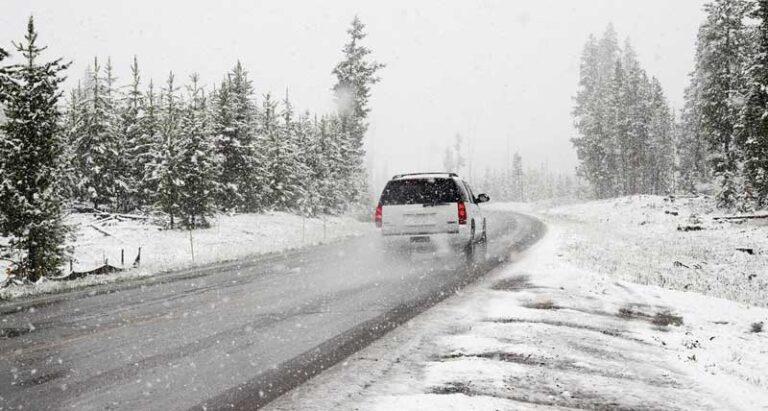Sicheres Autofahren im Winter