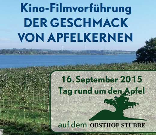 """""""Tag rund um den Apfel"""" auf dem Obsthof Stubbe"""
