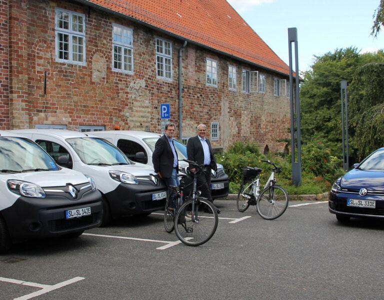 Schleswig: Fuhrpark der Stadtverwaltung verändert sich