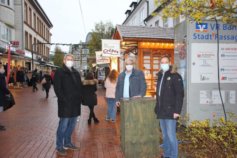 """Schleswig: Weihnachtsmarkt """"to go"""", aber ohne Glühwein"""