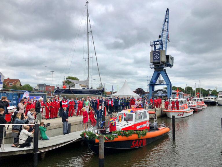 """""""Herwil Götsch"""", ein neues Seenotrettungsboot für die Schlei"""