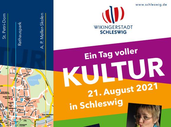Ein Tag voller Kultur in Schleswig am 21. August